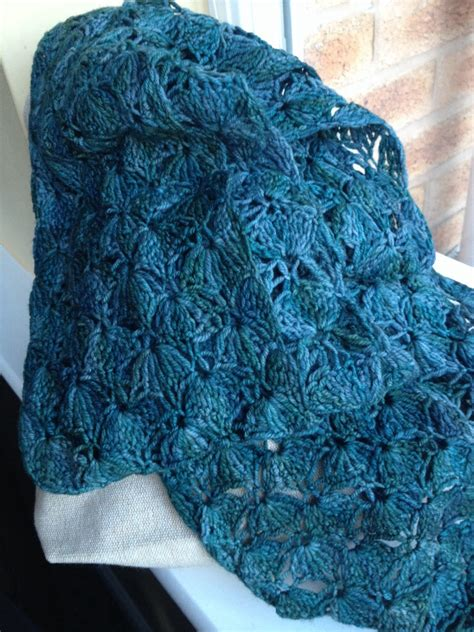 lace crochet scarf complete love lucie