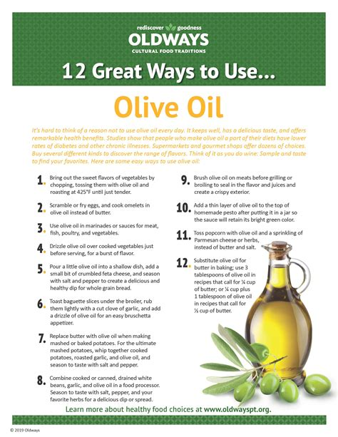 12 Great Ways to Use Olive Oil | Oldways