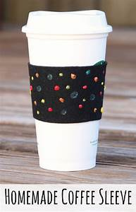 Homemade Coffee Cup Sleeve Craft Coffee Cups and Crayons