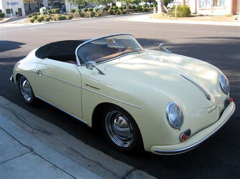 1957 Porsche Speedster Replica 1957 porsche speedster replica sold 1957 porsche