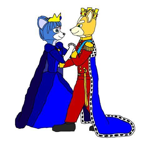 King Fox And Queen Krystal Star Fox Fan Art 25697698