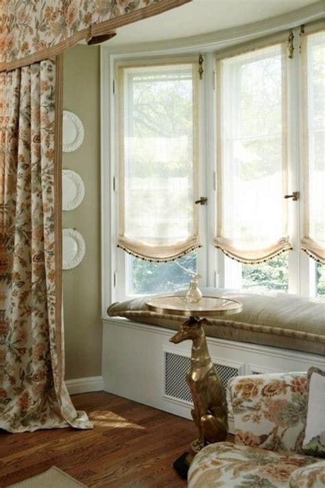 240 best images about bay window treatments on