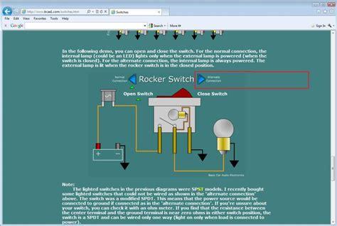 3 pin rocker switch wiring diagram beautiful led toggle