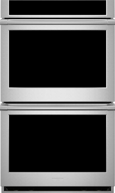 monogram ztddpsnss   statement series smart electric double wall oven   cu ft