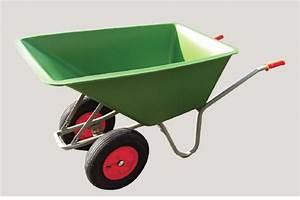 Brouette 2 Roues Brico Depot : brouette 170l poly thyl ne 2 roues achat en ligne ou ~ Nature-et-papiers.com Idées de Décoration