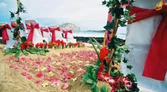 hawaiian wedding the best wedding decorations hawaiian wedding decorations guide