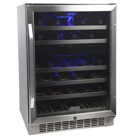 Wine Refrigerator Cabinet Built In by How To Choose The Best Built In Wine Cooler Buyer S Guide