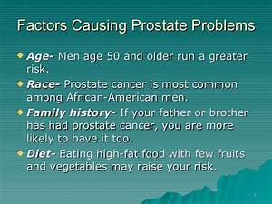 Ginseng And Prostate Diseases