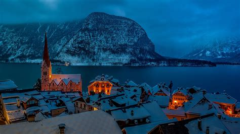 Wallpaper For Computer Background by Hallstatt Wallpapers Backgrounds