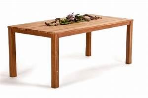 Gartenmöbel Rattan Holz : urban dining holz tisch aus akazienholz ~ Markanthonyermac.com Haus und Dekorationen