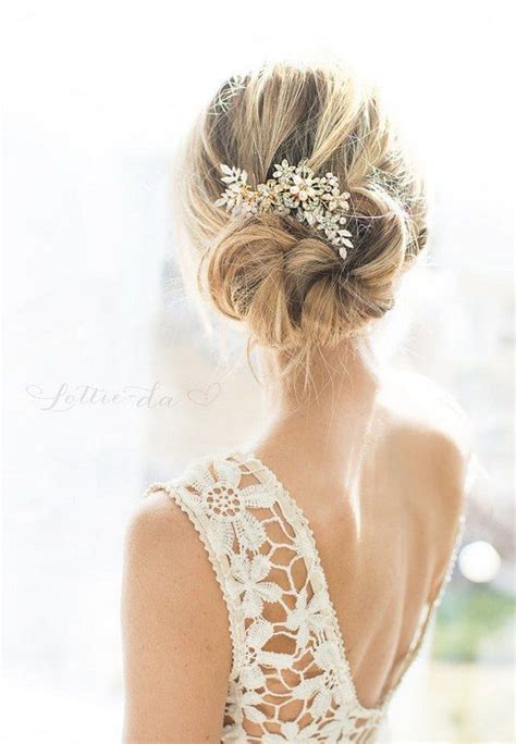 Easy To Do Messy Wedding Hair Updo ? WeddCeremony.Com