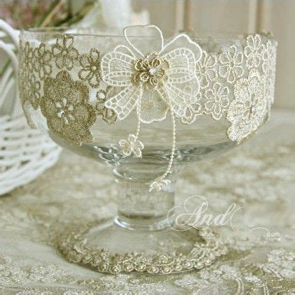 diy wedding decorations lace diy lace wine glass for wedding banquet supplies and home