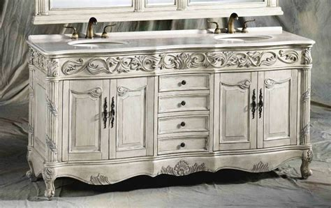 72 Inch Carolina Vanity   Double Sink Vanity   Antique