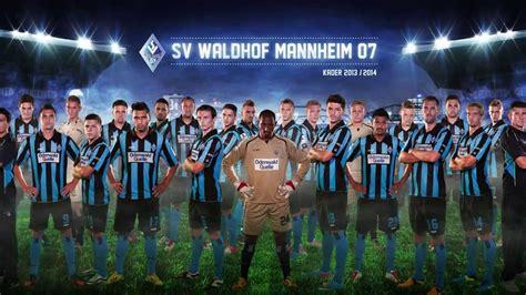 Mannschaftsfoto SV Waldhof Mannheim  Making of YouTube