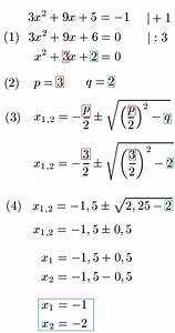 Ladungsmenge Q Berechnen : pq formel erkl rung und beispiele ~ Themetempest.com Abrechnung