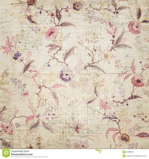 papier peint vintage papier peint floral de vintage image stock image du