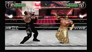 WWE AllStar Wii Gameplay + Match Undertaker vs Rey ...
