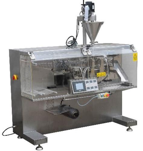 horizontal sachet machine