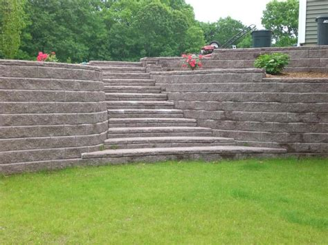 retaining wall design retaining wall design wood landscape design