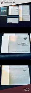 2007 Nissan Altima Owner U2019s Manual In 2020