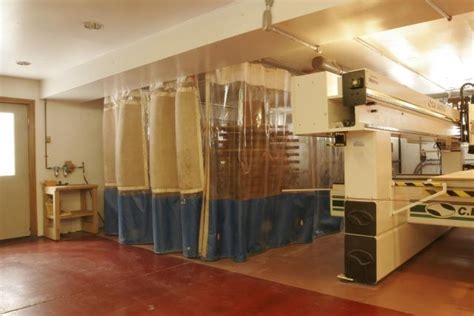 Goffs Curtain Walls by Woodworking Curtains Dust Control Curtains Industrial