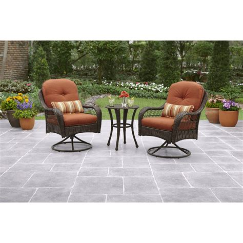 Mainstay Patio Furniture 7 by Mainstays 5 Skylar Glen Outdoor Leisure Set