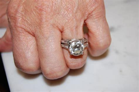 brilliant engagement ring  tapered baguette side