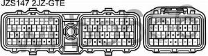 Ecu Pinout Diagram For The Toyota 2jz Fse Engine