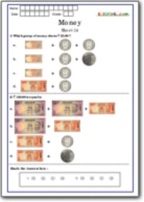 math money olympiad worksheets class 1 math printables