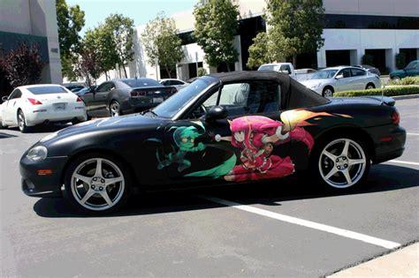vehicle pesonalized  anime wrap orange county ca