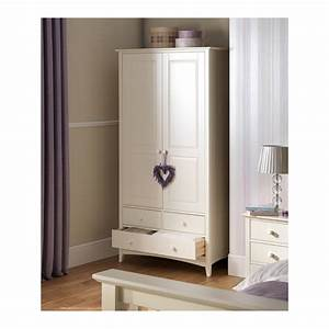 Kids wardrobe in stone white finish kids furniture for Kitchen cabinet trends 2018 combined with make your own canvas wall art