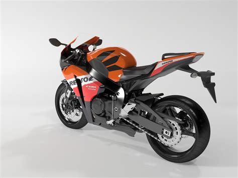 honda cbr bike models honda cbr 1000 rr 08 3d model max cgtrader com