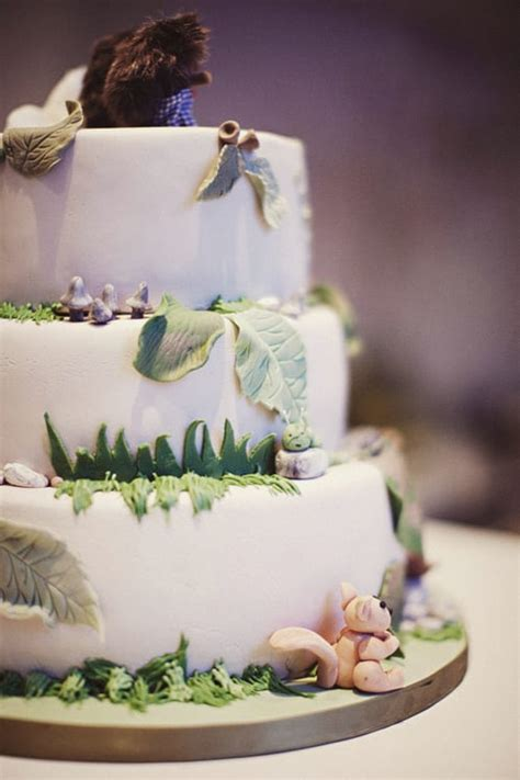 enchanted forest cake fairy tale wedding ideas popsugar love sex photo