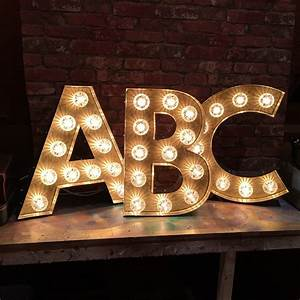 Vintage b letter light marquee style light up letter quotbquot for B marquee letter