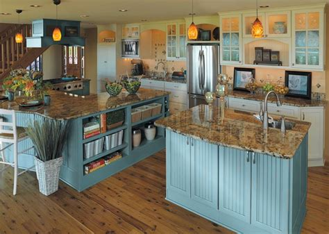 distressed blue kitchen cabinets 43 best paint color ideas for kitchen and other cabinets 6781