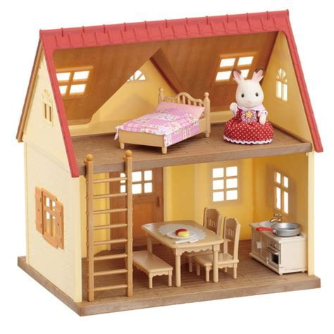 calico critters house with furniture   Roselawnlutheran