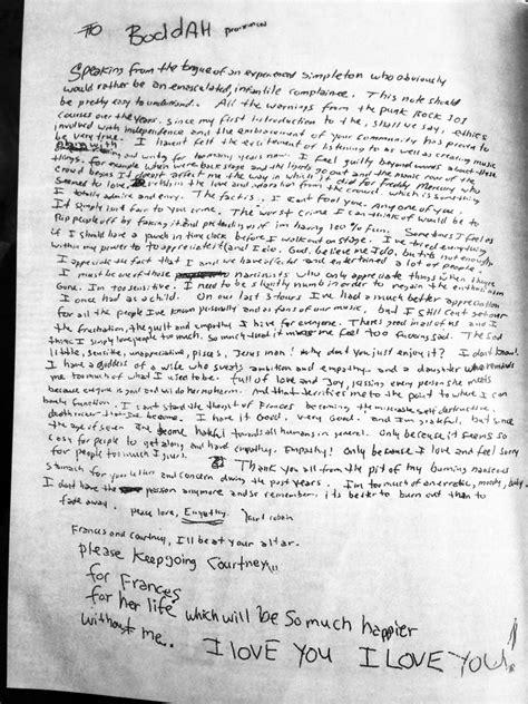 kurt cobain letter piper j sirens tarpaulin sky press 31427