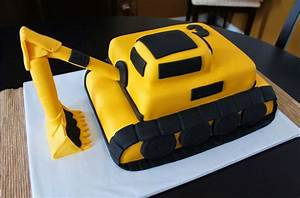excavator cake template excavator cake construction With digger cake template