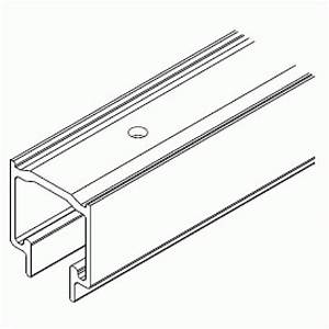 rail haut de roulement pour porte accordeon variofold With rail pour porte pliante