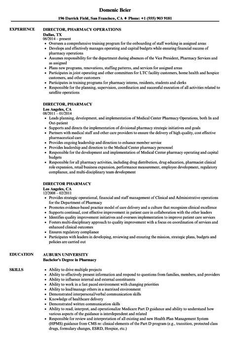 Pharmacy Manager Cv by Formato Pdf Resume Of Pharmacist Format