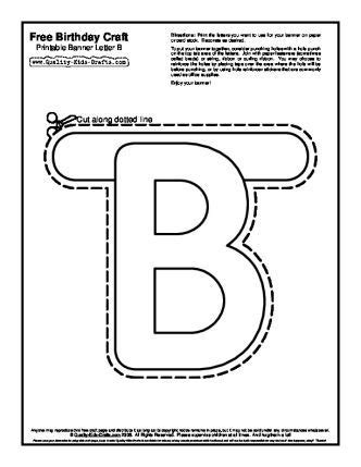 printable letter banner templates printable  degree