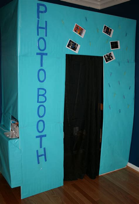 build  easy party photo booth imagine  life