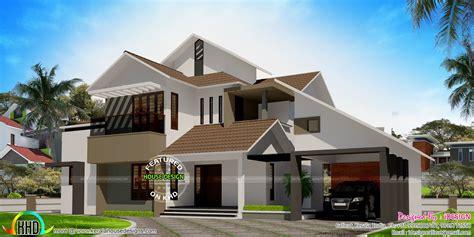 lakhs cost estimated modern home kerala home design floor plans