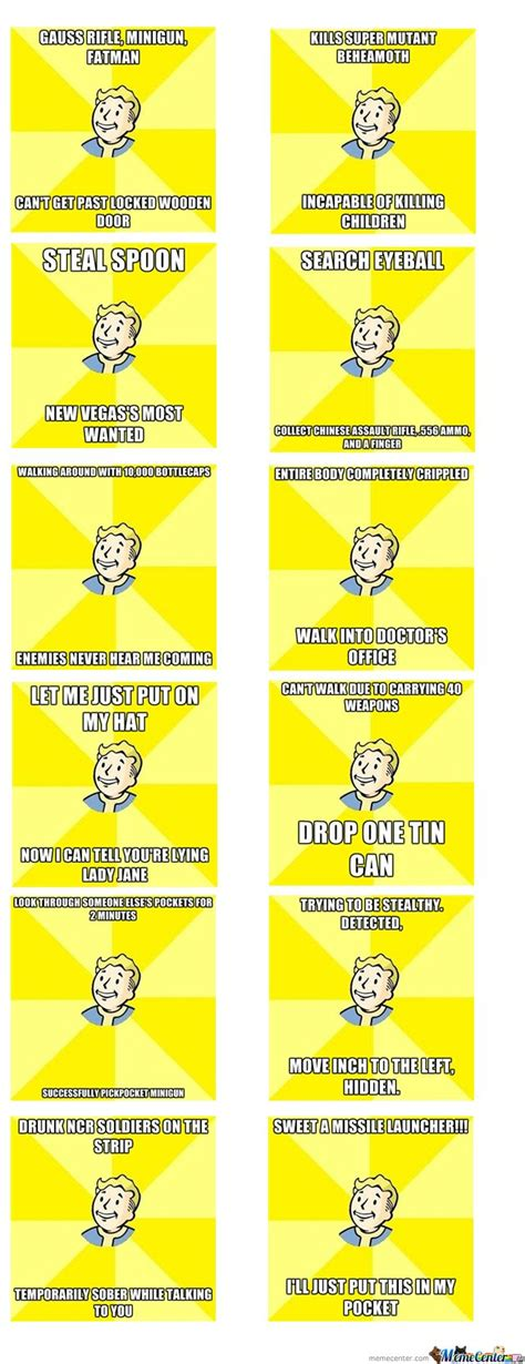 Fallout Meme On Pinterest Fallout 3 Funny Fallout New