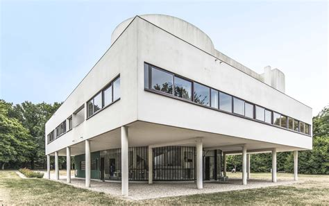 Villa Savoye Innen by Villa Savoye Monument Activities In