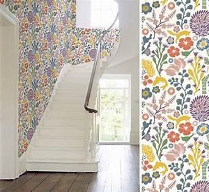 Au Fil Des Couleurs Papier Peint : papier peint 8 au fil des couleurs inspiration seventies ~ Melissatoandfro.com Idées de Décoration