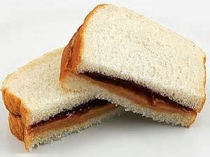 Peanut Butter And Jelly Sandwich   Free Images at Clker ...