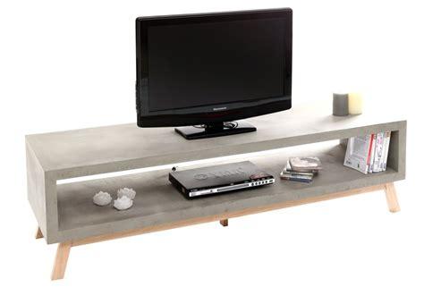 Banc Tv Beton Fly  Table De Lit