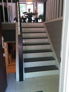 Split, Foyer, Staircase, Gets, A, Makeover