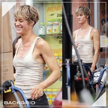 Mackenzie Davis Terminator Grace Hair Harper Reboot